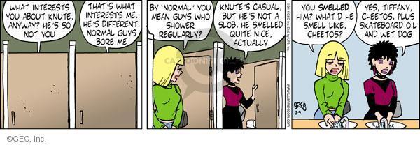 Cartoonist Greg Evans  Luann 2011-02-09 smell