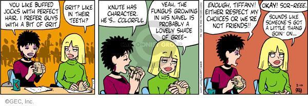 Comic Strip Greg Evans  Luann 2011-02-10 hair