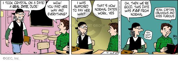 Comic Strip Greg Evans  Luann 2011-02-11 expecting