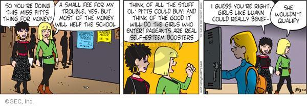 Comic Strip Greg Evans  Luann 2011-02-23 small