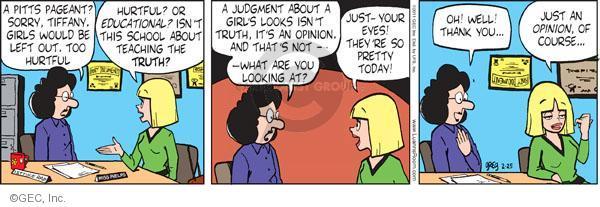 Comic Strip Greg Evans  Luann 2011-02-25 opinion