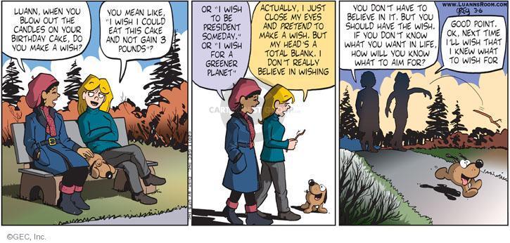 Comic Strip Greg Evans  Luann 2011-03-06 environment