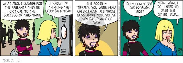 Comic Strip Greg Evans  Luann 2011-03-07 football