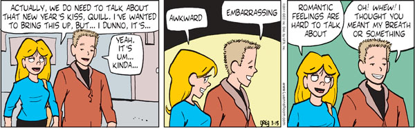 Comic Strip Greg Evans  Luann 2011-03-15 feel
