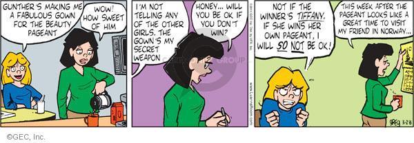 Comic Strip Greg Evans  Luann 2011-03-28 week