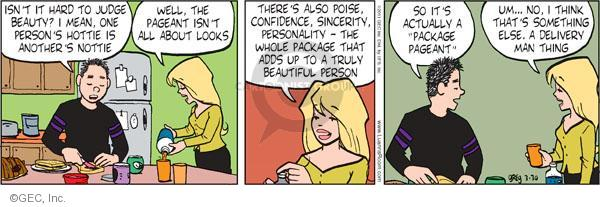 Comic Strip Greg Evans  Luann 2011-03-30 personality