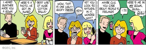 Comic Strip Greg Evans  Luann 2011-05-04 considerate