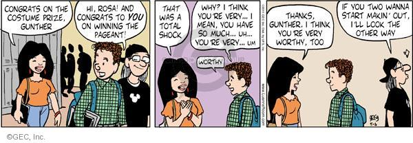 Comic Strip Greg Evans  Luann 2011-05-06 Gunther