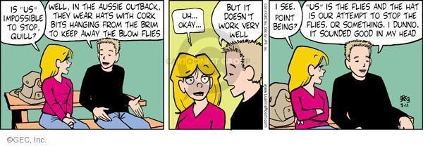 Comic Strip Greg Evans  Luann 2011-05-11 country