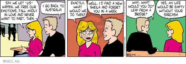 Comic Strip Greg Evans  Luann 2011-05-12 sarcastic