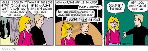 Cartoonist Greg Evans  Luann 2011-05-13 price