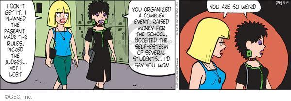 Comic Strip Greg Evans  Luann 2011-05-19 pride