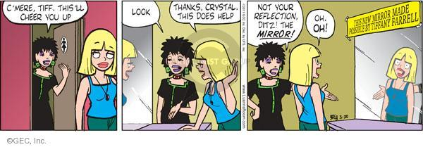 Comic Strip Greg Evans  Luann 2011-05-20 cheer