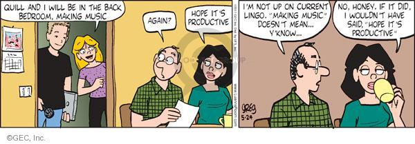Comic Strip Greg Evans  Luann 2011-05-24 record