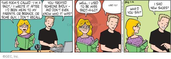 Comic Strip Greg Evans  Luann 2011-05-26 treating