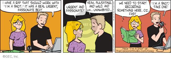 Comic Strip Greg Evans  Luann 2011-05-27 record