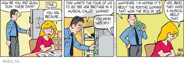 Comic Strip Greg Evans  Luann 2011-05-31 automobile
