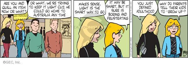 Comic Strip Greg Evans  Luann 2011-06-01 adult