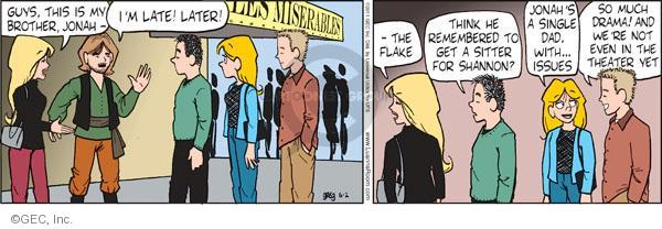 Comic Strip Greg Evans  Luann 2011-06-02 drama