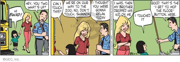 Comic Strip Greg Evans  Luann 2011-06-13 child