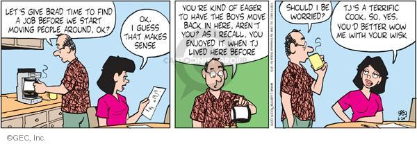 Cartoonist Greg Evans  Luann 2011-06-24 unemployment