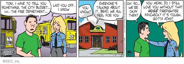 Comic Strip Greg Evans  Luann 2011-07-01 feel