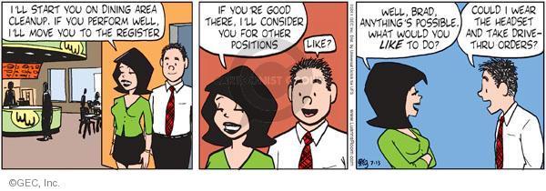 Comic Strip Greg Evans  Luann 2011-07-13 cleanup