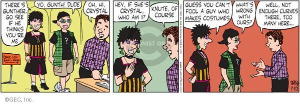 Comic Strip Greg Evans  Luann 2011-07-22 guess