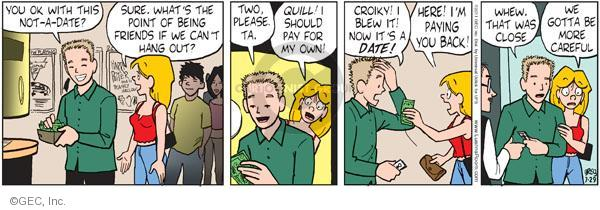 Comic Strip Greg Evans  Luann 2011-07-29 careful
