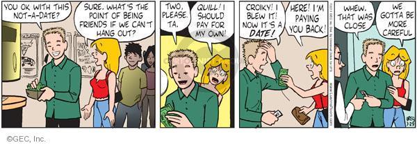 Comic Strip Greg Evans  Luann 2011-07-29 two friends