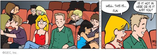 Cartoonist Greg Evans  Luann 2011-07-30 fun