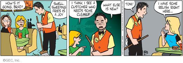 Comic Strip Greg Evans  Luann 2011-08-01 wonderful
