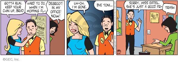 Comic Strip Greg Evans  Luann 2011-08-04 chore