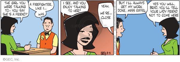 Comic Strip Greg Evans  Luann 2011-08-05 always