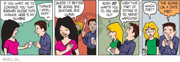 Comic Strip Greg Evans  Luann 2011-08-11 phone number