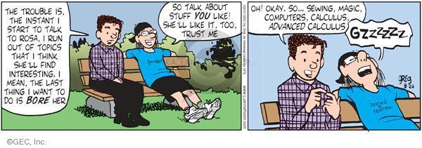 Comic Strip Greg Evans  Luann 2011-08-20 magic