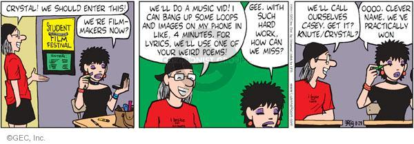 Comic Strip Greg Evans  Luann 2011-08-29 sarcastic