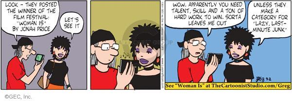 Comic Strip Greg Evans  Luann 2011-09-02 group