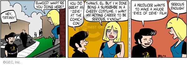 Comic Strip Greg Evans  Luann 2011-09-05 con