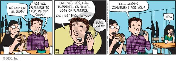 Comic Strip Greg Evans  Luann 2011-09-19 plan