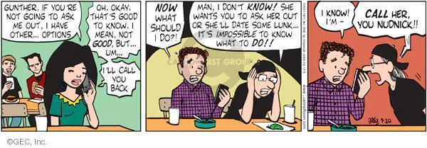 Comic Strip Greg Evans  Luann 2011-09-20 option
