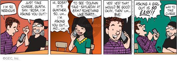 Comic Strip Greg Evans  Luann 2011-09-21 charge
