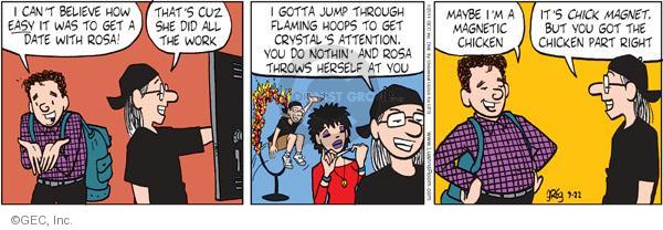 Comic Strip Greg Evans  Luann 2011-09-22 jump