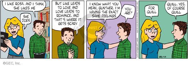 Comic Strip Greg Evans  Luann 2011-09-29 romance
