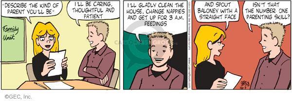 Comic Strip Greg Evans  Luann 2011-10-07 chore