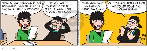 Comic Strip Greg Evans  Luann 2011-10-08 assistance
