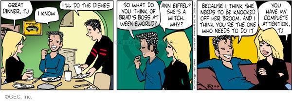 Comic Strip Greg Evans  Luann 2011-10-24 plan