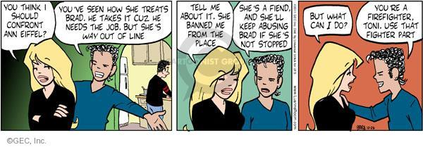 Cartoonist Greg Evans  Luann 2011-10-25 misbehavior