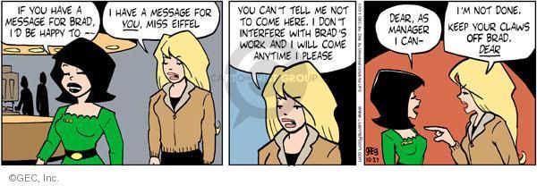 Cartoonist Greg Evans  Luann 2011-10-27 behavior