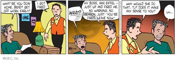 Cartoonist Greg Evans  Luann 2011-10-31 unemployment